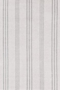 DashAndAlbert Aland Stripe Cotton Woven rug 2x3 for BRM remodel: grey/off white/ washable in cold water (many sizes)