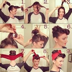 Hair for we can do it girl for halloween