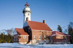 Seul Choix Point Lighthouse Michigan Upper Peninsula