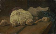 Van Gogh - Stillleben mit Kohl und Holzschuhen, 1881