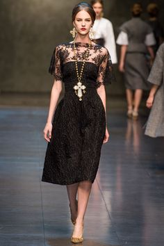 Dolce & Gabbana Fall/Winter 2013 collection - Milan Fashion Week