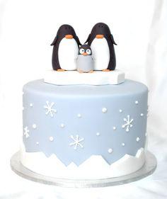 The Cupcake Gallery Blog: Winter Arctic cake