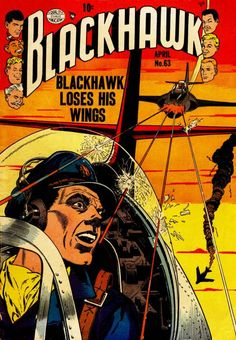 Comic Book Cover For Blackhawk Issue #63 Quality Comics