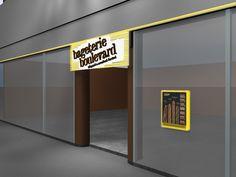 vizualizacia predajne Bageteria Boulevard Pardubice