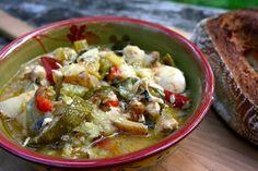 Crockpot Chicken Vegetable Stew #Foodie Friday | Simple Living and Eating: Crockpot Chicken Vegetable Stew #Foodie Friday