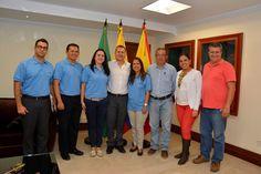 Gobernador se reunión con Comisión Evaluadora de Coldeportes