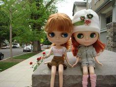 Blythe Dolls at: alisonclaires.com