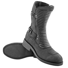 Speed and Strength Speed Society Womens Street Motorcycle Riding Boots