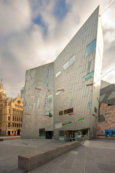 Federation Square designed by Lab Studio