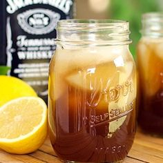 Jack Daniels Sweet Tea - not willing to search for the recipe. just add Jack Daniels to your favorite sweet tea recipe.
