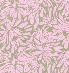 Amy Butler Fabric - Daisy Chain - Daisy Bouquet - Grey