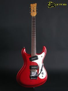 Mosrite 1968 Red Metallic