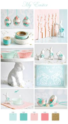 easter decor. inspiration.