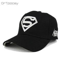 65235919326 Superman Baseball Caps. Fashion HatsUnisex FashionSnapback CapWoman  FashionMens CapsSun HatsHats For MenHiphopSuperman