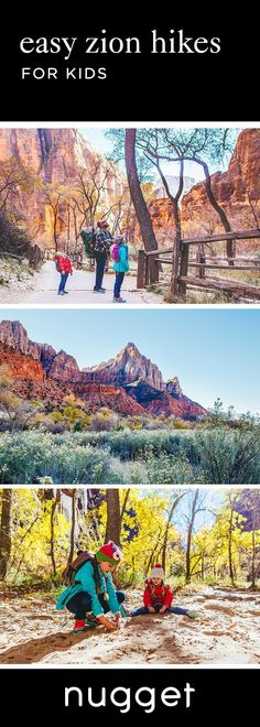 Looking for easy Zion hikes with kids? This day includes two kid-friendly hikes, a scenic shuttle ride and a trip to the museum. Your family will love it! #zion #zionnantionalpark #zionNP #family #familytravel #familyadventures #roadtrip #travelwithkids #tipsforzion #nationalparksusa #nationalparks #travelUSA #familylife #campingtips #hikingtips #camping #hiking #familyfriendly #southernutah #utah #beutahful #placestostay #tipsfortravel