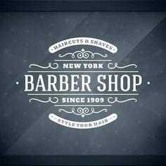 vintage barber shop signs - Google Search