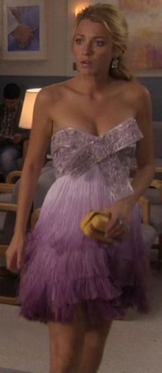 My all time favorite gossip girl outfit Fashion Tv, Gossip Girl Fashion, Gossip Girl Dresses, Gossip Girls, Serena Van Der Woodsen, Estilo Gossip Girl, Blair And Serena, Looks Party, Blake Lively Style