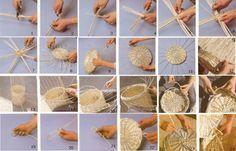 como hacer cestos de mimbre - Como Hacer Cestos De Mimbre