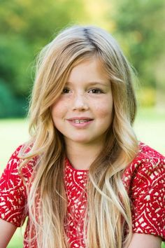 Alexia, daughter of our King and Queen The Netherlands