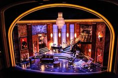 Present Laughter. Scenic design by Alexander Dodge.