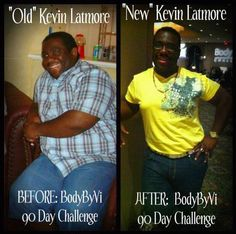 Kevin Latmore's Body by Vi 90 Day Challenge Results!