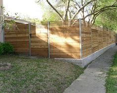 Fence ideas  NOTE RAISED FENCE.. FOR BACK YARD HP