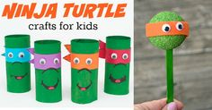 15 Incredible Ninja Turtle Crafts - Love and Marriage This.