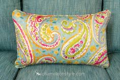 Watercolors – Turquoise is a contemporary paisley print in shades of teal, magenta, green and a touch of yellow.