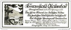 Original-Werbung/Inserat/ Anzeige 1929 - KURANSTALT GLOTTERBAD / OBERGLOTTERTAL (SÜTTERLIN-SCHRIFT) - ca. 140 x 50 mm