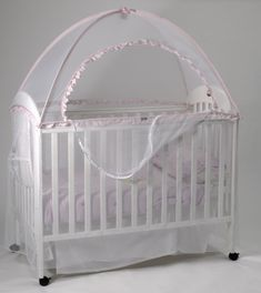 A perfect little mesh cupcake to keep your little cupcake secure and safe from little nasty moquitoes, flies and insects that irritate and endanger your little baby. Unlike a traditional halo net which falls all over your baby's face, the babyhood Cot Canopy Net has top to bottom mesh protection that is secured away from your baby and does not interfere with your baby but still gives you easy and effective access to your baby through a zipped opening. The soft and silky net is also ideal for…