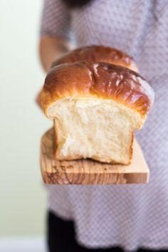 ... milk shokupan, pai bao, asian sweet bread, japanese-style white bread