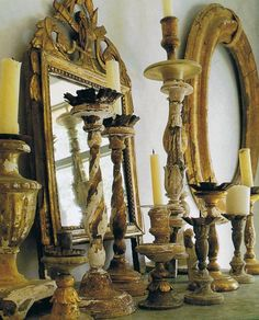 Fantastic aging.. when grouped together these pieces really pack a amazing punch don't they? Elegance of a sort....