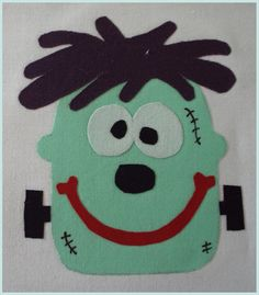 FrankenSilly PDF Applique Template by SimplyApplique on Etsy, $1.50