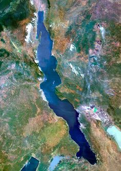 Did you know: Lake Tanganyika in Africa which extends for 673 km is the longest lake in the world. It has an average width of 50 km and with a depth that reaches 4,710 ft making it for the second deepest lake in the world.
