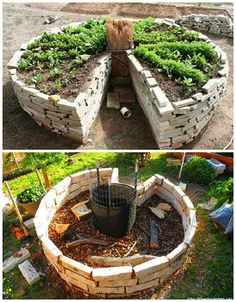 How To And Why You Need To Build A Keyhole Garden