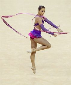 Spotlight: Frankie Jones - Rhythmic Gymnastics Slideshows | NBC Olympics