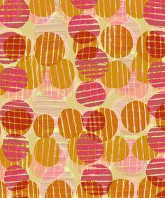 Circles with lines - Sarah Bagshaw