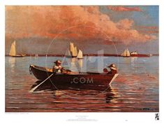 Gloucester Harbor Winslow Homer Paintings, Gloucester, Framed Artwork, Find Art, Art Prints, Gallery, Drawings, Poster, Image
