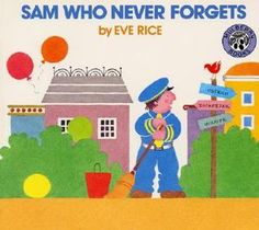 Sam Who Never Forgets ~ Could Sam the zookeeper have forgotten to feed Elephant, the other zoo animals wonder. Sam the zookeeper never forgets to feed the animals.