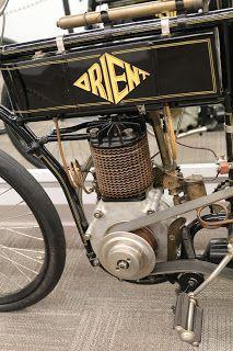OldMotoDude: 1902 Orient on display at the St. Francis Motorcycle Museum -- Kansas