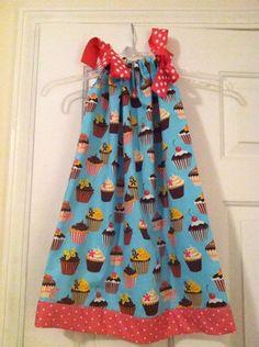 Cupcake Pillowcase Dress