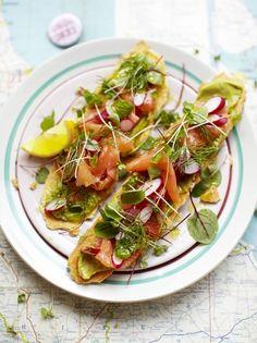 Smoked Salmon Toasts | Fish Recipes | Jamie Oliver