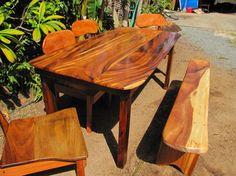 Kini Woodworkinghawaii 808 227 9473 Solid Wood Furniture Tropical Hardwoods Monkey Pod Koa Reclaimed