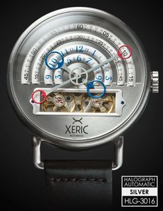 """Xeric Halograph Watches A Kickstarter Success, With Affordable Prices & Unusual Designs - by Patrick Kansa - see all about it: http://www.ablogtowatch.com/xeric-halograph-watch-kickstarter/ """"Between the various crowd-funding platforms that are available, there has been an explosion of new watch brands (and watches) entering the market. Some of these are derivative and really do not offer anything new or unusual. Past that, many are first-time efforts from some folks you have never heard of, so it is definitely not zero risk for backers. With the Xeric Halograph, we have a rather unique look coming to us from a familiar name in the watch industry..."""""""