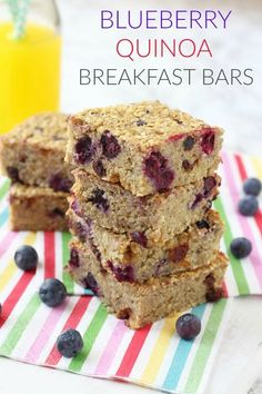 A tasty and super healthy breakfast recipe, perfect for kids. Packed with quinoa, oats, bananas and blueberries they make a really nutritious start to the day and are gluten and dairy free too!