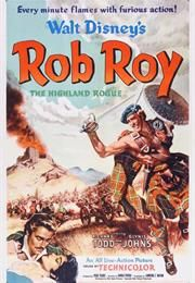 ✔️ Rob Roy, the Highland Rogue is a 1953 British-American action film, made by Walt Disney Productions Walt Disney Movies, Classic Disney Movies, Disney Movie Posters, Film Disney, Classic Movie Posters, Disney Live, Walt Disney Pictures, Classic Films, Cinema Posters