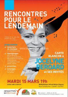 Rencontre pour le lendemain avec Jocelyne Beroard Vous aussi intégrez vos événements dans l'Agenda des Sorties de www.bellemartinique.com C'est GRATUIT !  #martinique #Antilles #domtom #outremer #concert #agenda #sortie #soiree