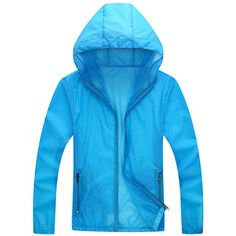 Sawadikaa Women's Super Lightweight Running Jacket Quick Dry Skin Windbreaker Sun Protect Coat ** Read more reviews of the product by visiting the link on the image. (This is an affiliate link) #TrackJackets