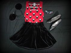 Check out my Minnie Mouse Halloween costume I put together myself! Link: http://dollhouselucy.blogspot.com/2014/10/minnie-mouse-costume.html #fbloggers #dollhouselucy #halloween #minniemouse