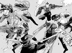 Chainsaw Man 87 - Read Chainsaw Man Chapter 87 Online - Page 1 Manga Anime One Piece, Manga Art, Anime Art, Man Wallpaper, Naruto Wallpaper, Punch Manga, Man Vs, Slayer Anime, Chainsaw